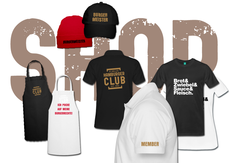 Online-Shop St.Galler Hamburger Club